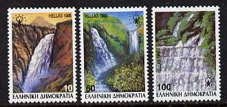 Greece 1988 European Campaign for Rural Areas perf set of 3 unmounted mint, SG 1791-3