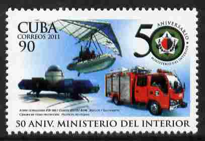 Cuba 2011 50th Anniversary of Ministry of Interior unmounted mint