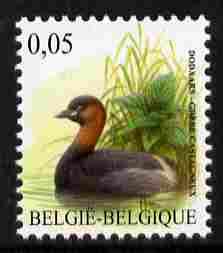 Belgium 2010-14 Birds - Little Grebe 0.05 Euro unmounted mint