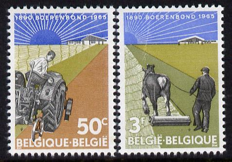 Belgium 1965 75th Anniversary of Farmers
