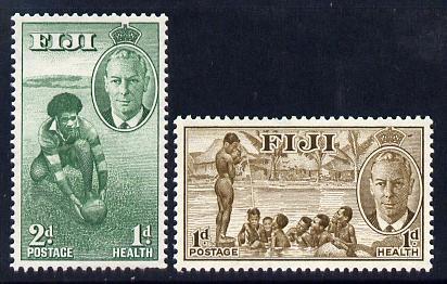 Fiji 1951 Health set of 2 unmounted mint SG 431-2
