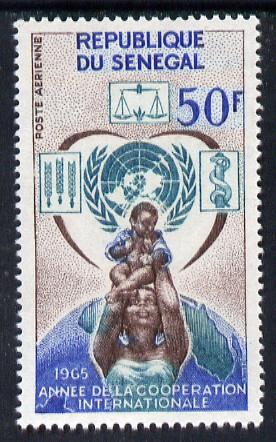 Senegal 1965 International Co-operation Year unmounted mint, SG 310