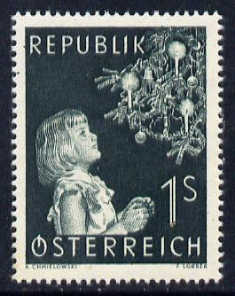Austria 1953 Christmas unmounted mint, SG 1251