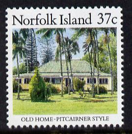 Norfolk Island 1987 Old Pitcairner-style House 37c unmounted mint SG 411