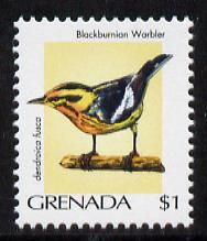 Grenada 2000 Birds $1 Blackburnian Warbler unmounted mint, SG 4287