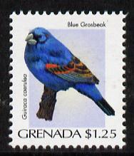 Grenada 2000 Birds $1.25 Blue Grosbeak unmounted mint, SG 4288