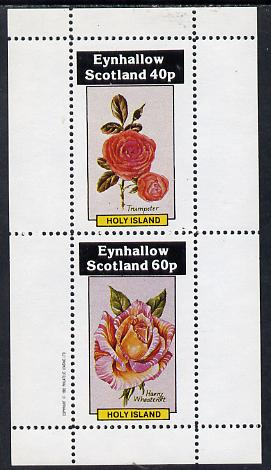Eynhallow 1982 Roses (Trumpeter & Harry Wheatcroft) perf  set of 2 values (40p & 60p) unmounted mint