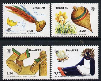 Brazil 1979 Int Year of the Child set of 4, SG 1796-99