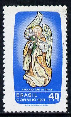 Brazil 1971 St Gabriel's Day (Patron Saint of Communications) unmounted mint SG 1331