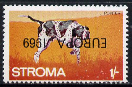 Stroma 1969 Dogs 1s (Pointer) perf single with