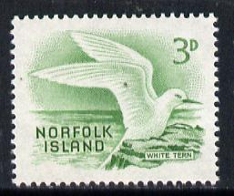 Norfolk Island 1961 White Tern 3d value from def set unmounted mint, SG 26*