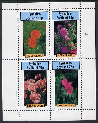 Eynhallow 1982 Roses perf  set of 4 values (10p to 75p) unmounted mint