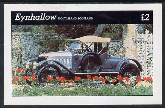 Eynhallow 1981 Vintage Cars #5 imperf deluxe sheet (�2 value) unmounted mint