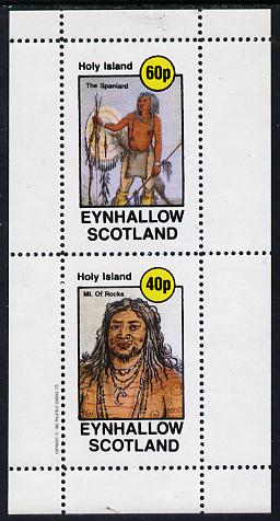 Eynhallow 1982 N American Indians perf set of 2 values unmounted mint